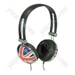 Flag Design Stereo Headphone - Flag Union Jack