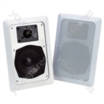 "e-audio In-Wall Speaker With 5"" Driver and Tweeter"