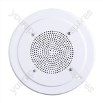 "100V Line 8"" Round Ceiling Speaker With Moisture Resistant Dual Cone"