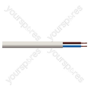 Round 2 Core 0.5mm PVC Flex 3 A 2182Y - Colour White