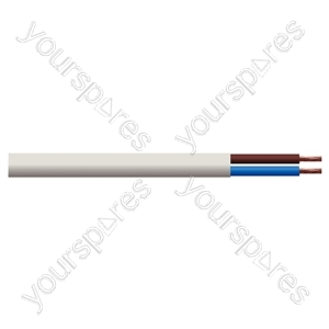 Round 2 Core 0.75mm PVC Flex 6 A 2182Y - Colour White