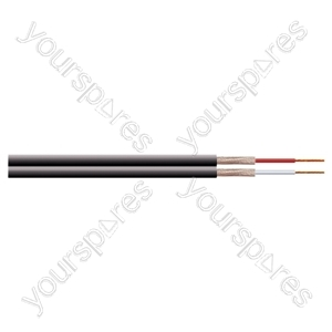2 Core Fig of 8 Individual y Screened Cable Extra Flexible - Number of Strands 10/0.1