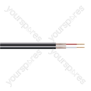 2 Core Fig of 8 Individual y Screened Cable Extra Flexible - Number of Strands 16/0.12