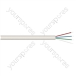 D Shape 4 Core Telephone Cable