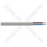 Oval 2 Core 0.50mm PVC Flex 3A Hank 2192Y 5m