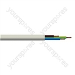 Round 3 core 1.5mm PVC Flex 15A 3183Y - Lead Length (m) 100