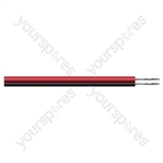 Eagle Figure of 8 Black/Red 2 Core Power Cable - Current Rating 3A
