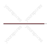 Figure of 8 Black/Red 2 Core Power Cable - Current Rating 20A