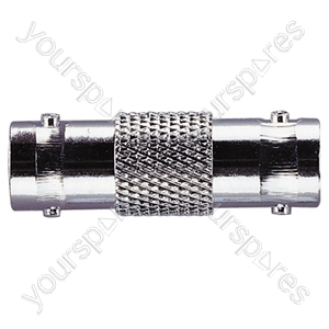 BNC Female to Female Coupler 50 Ohm