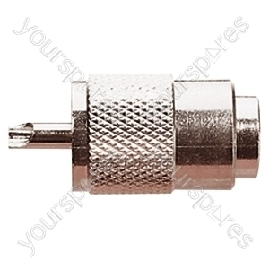 UHF Male Plug with Internal Diameter 9.5 mm