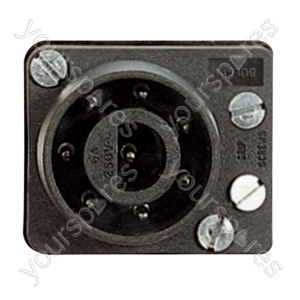 8 Pin Line Plug 6A