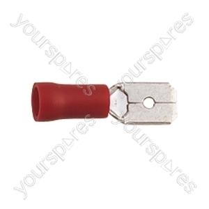 Blade Crimp Terminal  - Colour Red