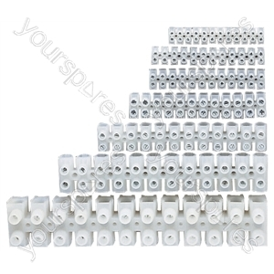 12 Way Screw Terminal Block - Amps 10A