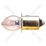Clear 500 mA Pre Focus Bulb - Voltage 4.8V