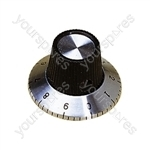 6.35 mm Plastic Calibrated Knob