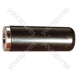 3.5 mm Mono Plastic Line Socket with Solder Terminals