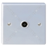 Flush Single Coaxial Outlet