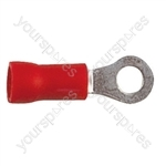 Ring Crimp Terminal - Dia 6.4mm