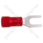 Spade Crimp Terminal - Colour Red