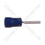 Pin Crimp Terminal - Colour Blue