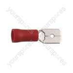 Blade Crimp Terminal  - Colour Red