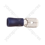 Blade Crimp Terminal  - Colour Blue