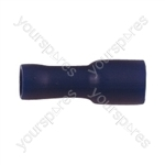 Female Bullet Crimp Terminal   - Colour Blue