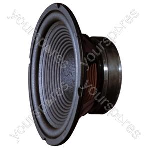 "Soundlab 10"" Bass Chassis Speaker 100W (8 Ohm)"