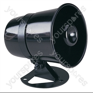 Plastic Horn Speaker With Adjustable Bracket 8W