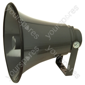 Low impedance Aluminium Horn Speaker With Adjustable Bracket - Power RMS  25