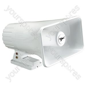 Rectangular Horn Speaker With Adjustable Bracket 30W
