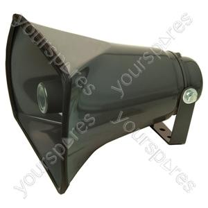 Rectangular Metal Horn Speaker With Adjustable Bracket - Power RMS  30