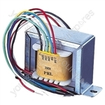 100V Line Transformer Converting Line Signal To 8/16 Ohm With Tapings 2.5,5,10,15W