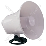 Round Horn Speaker With Adjustable Bracket
