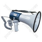 Eagle Handheld Megaphone With Volume Control and Fist Microphone 25W