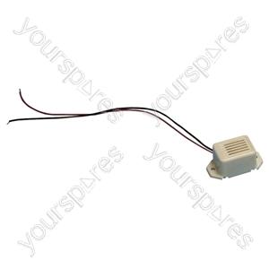 Miniature Electronic Buzzer - Voltage 12Vdc