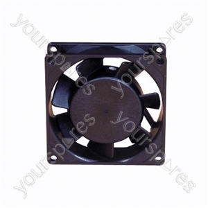 12 V DC Axial Flow Fan - Size 25x80x80mm