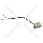 Miniature Electronic Buzzer - Voltage 12Vdc