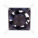 12 V DC Axial Flow Fan - Size 25x80x80mm