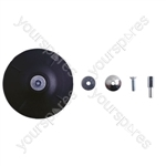 Rubber Backing Pad - 125mm