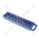 Deep Socket Set Air Impact 1/2in. - 9 Piece - 12-24mm