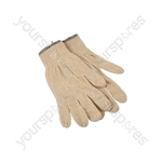 Cotton Underliner Gloves - Pack of 10 - One Size