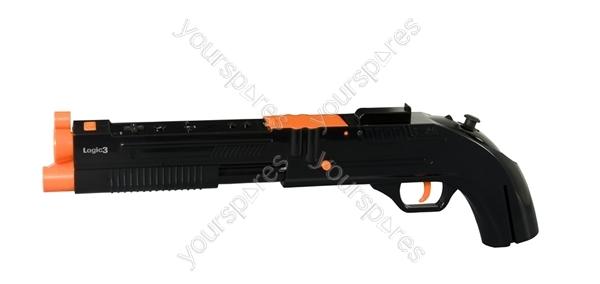 Logic3 Wii Rifle Black Nw827k By Logic3