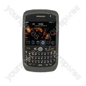 BlackBerry Curve 8900 Silicone Case & Scr Prot