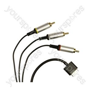 PSP Go AV-S Cable