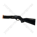 Logic3 Wii Rifle - Black