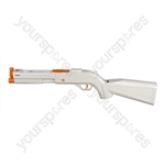 Logic3 Wii Rifle - White