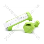 Pp Riiflex 1kg Dumbbell Set For Wii