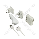 3-In-1 Power Kit for iPhone & iPod