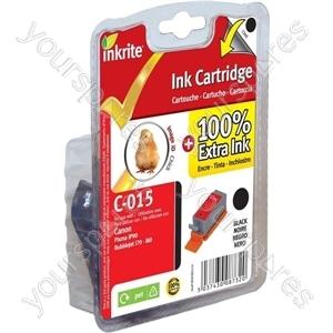 Inkrite NG Printer Ink for Canon i70 i80 Pixma iP90 - BCI-15BK Black (Chick)